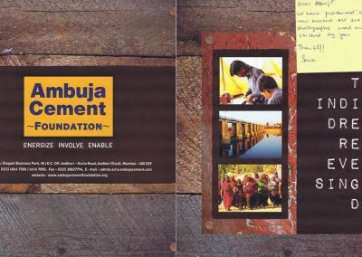 Publication- Ambuja Cement Foundation 2013-2014 - 1