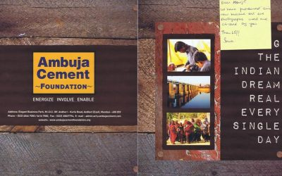 Ambuja Cement Foundation 2013-2015