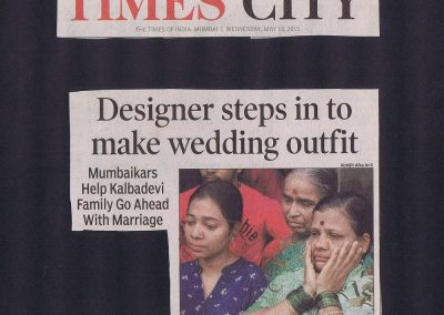 Tearsheets - Times Of India- Internship - 19