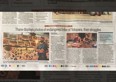 Hindustan Times Totopara Coverage Clipping